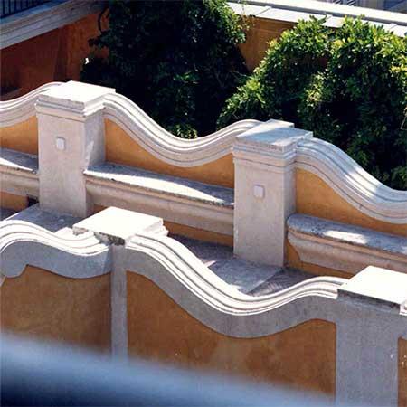 Palazzo Volpi - dettaglio